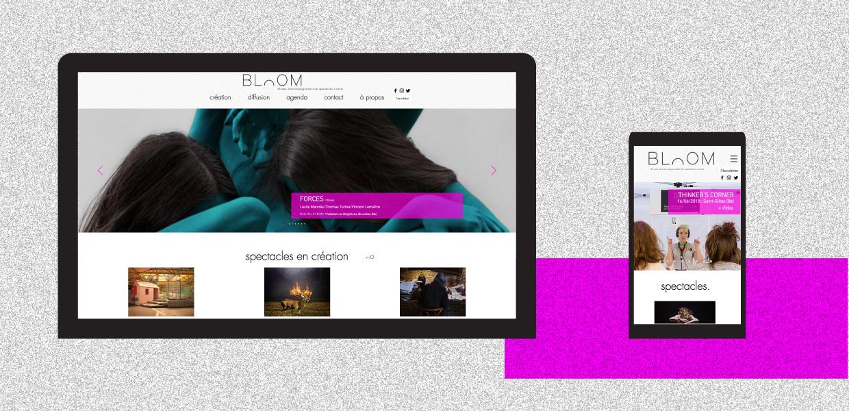 Illustration BLOOM - D'ailleurs - Studio de design graphique éthique