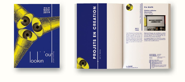 Illustration lookin'out - D'ailleurs - Studio de design graphique éthique