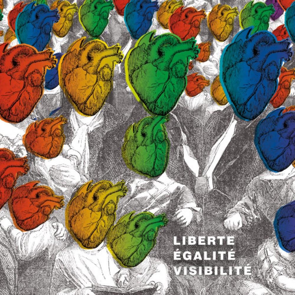 Aperçu de notre travail pour Marche des visibilités  - D'ailleurs - Studio de design graphique éthique