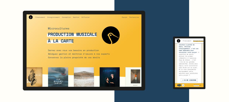 Illustration Microcultures - D'ailleurs - Studio de design graphique éthique