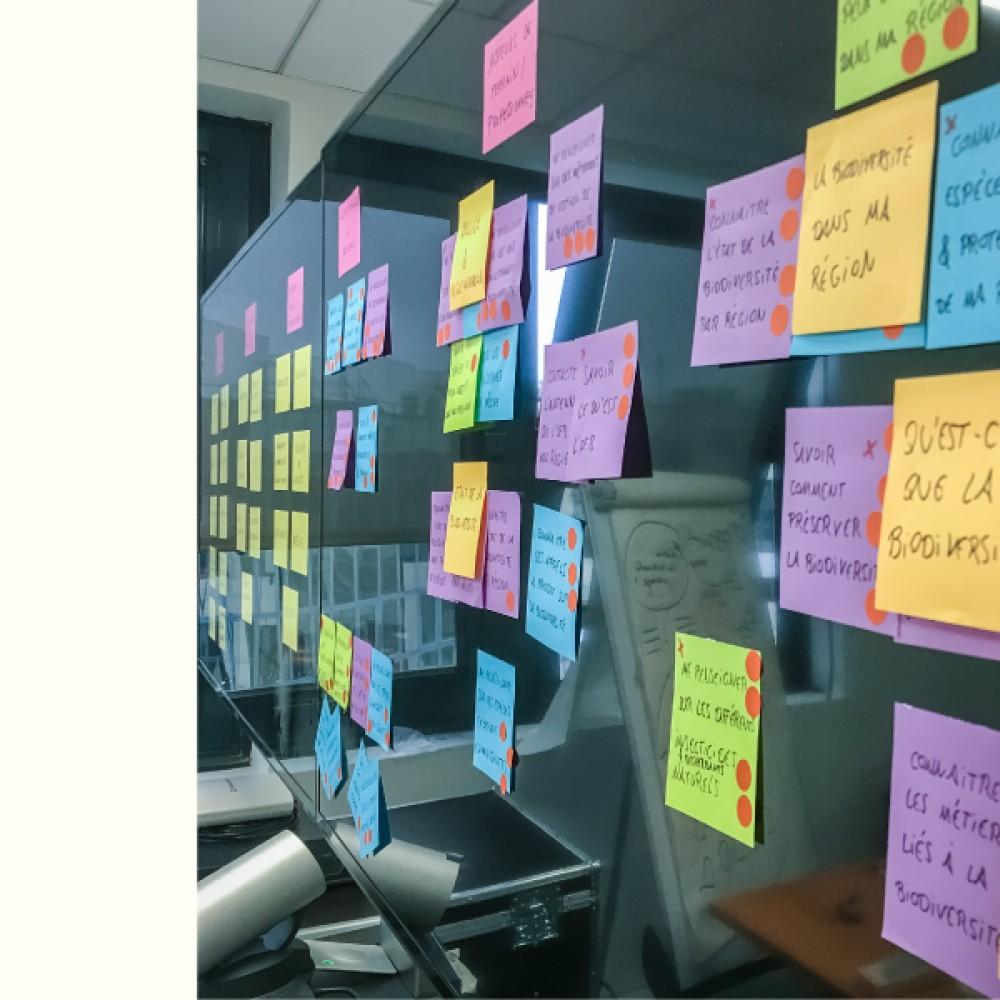 Aperçu de notre travail pour Office national de la biodiversité  - D'ailleurs - Studio de design graphique éthique