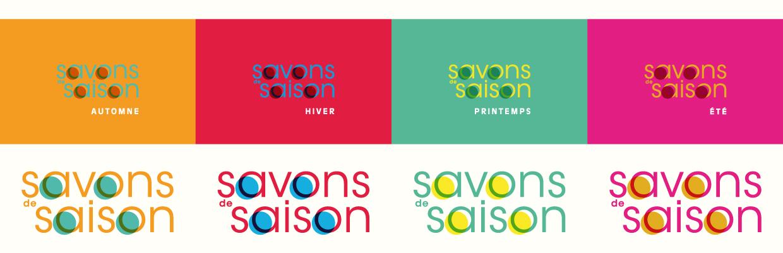 Illustration Savons de Saison - D'ailleurs - Studio de design graphique éthique